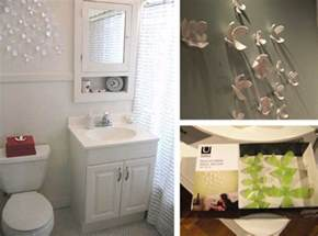 ideas to decorate a bathroom decorative floral accents wall ornament decoration for