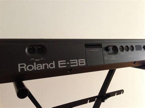 Keyboard Roland E 38 roland e 38 image 660779 audiofanzine