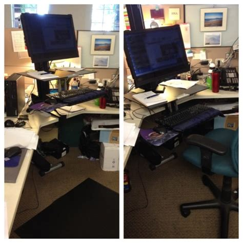 sit stand desk attachment standing desk ideas and tips what betty knows