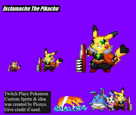 2014 A Twitch Odyssey Twitch Plays Pokemon Know Your Meme - twitch plays pokemon exclamachu sprite by pioxys on
