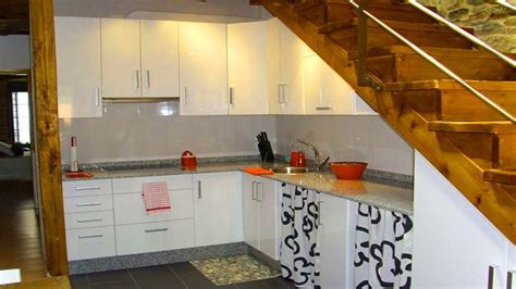 Inter Stairs And Kitchen Design Space Saving Stairs Kitchens Kitchen Staircase