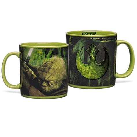 Star Wars Yoda Heat Changing 20oz Mug   ThinkGeek