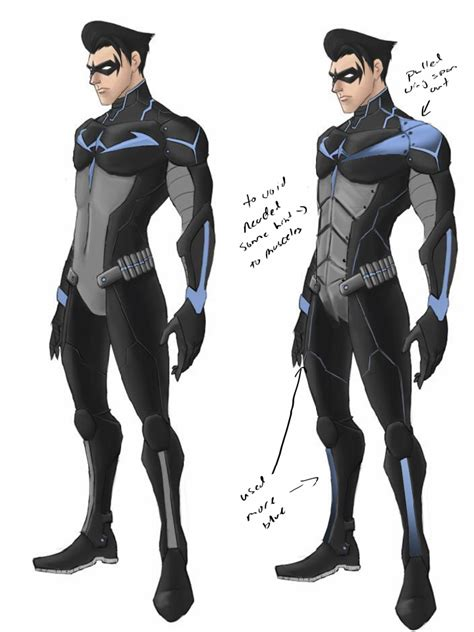 Hoodie Sweater Nightwing 1 nightwing concept by ttproject on deviantart