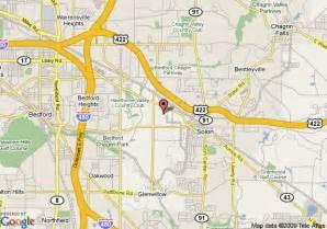 Solon Ohio Map by Hampton Inn Cleveland Solon Solon Deals See Hotel