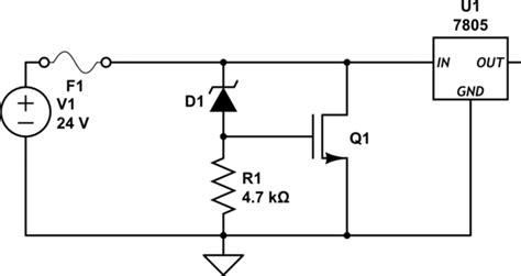 zener diode relay protection safety what is the recommended way to protect a circuit from non transient overvoltage