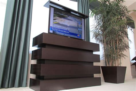Flat Screen Wall Cabinet With Doors by Tv Cabinet Lift Tv Cabinet With Lift Le Bloc Tv Cabinet