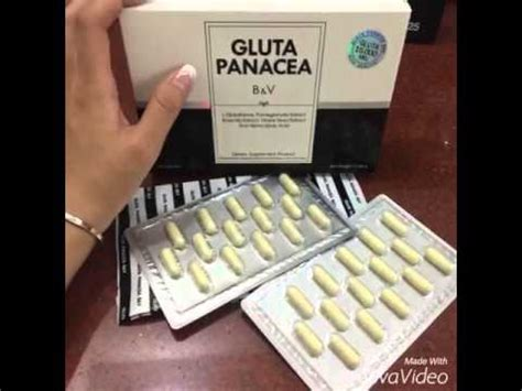 Jual Gluta Panacea Instagram gluta panacea