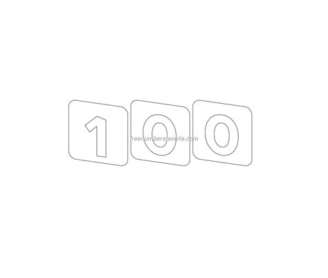 number 100 template 100 square to print new calendar template site