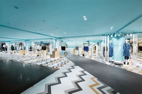 milk gallery design store nendo s women s department in japanese store design milk