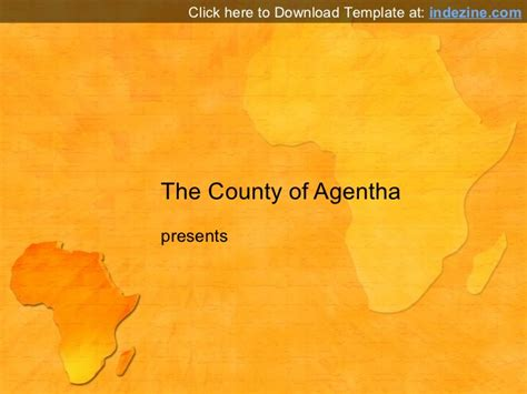 africa powerpoint template africa map powerpoint template
