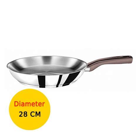 Wmf Wajan Penggorengan 28 Cm tefal wajan penggorengan tasty stainless steel 28 cm