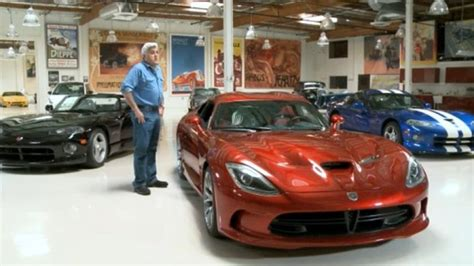 srt swings by leno s garage with new viper autoblog