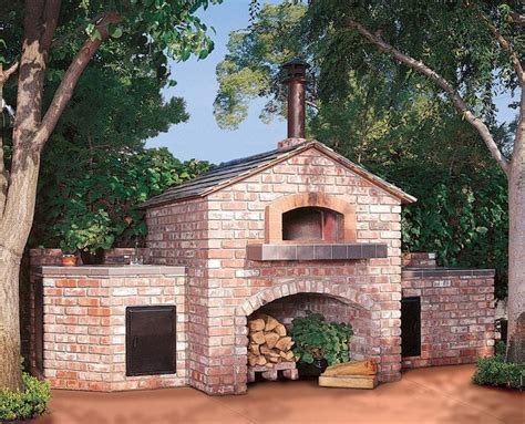 backyard ovens wood fired ovens outdoor wood fired pizza oven gable roof traditional