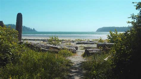 ay bay bay mp beachfront rv tenting sites pachena bay cground