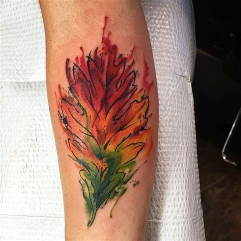 tattoo on arm leaves 32 latest fall tattoos collection