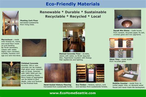 eco friendly green materials