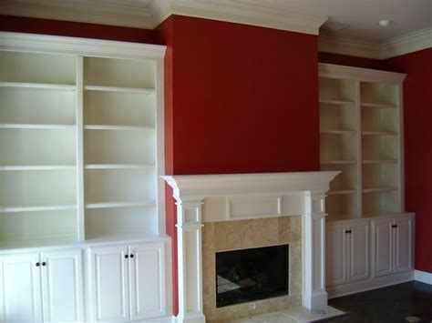 Fireplace With Built In Bookshelves Fireplace Built In Fireplace Built In Bookshelves