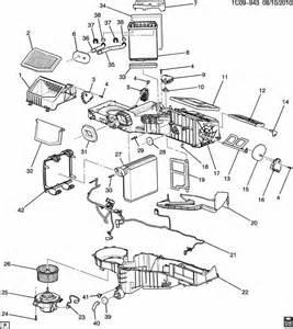 C Chevrolet Parts Chevrolet Silverado A C Heater Module Asm