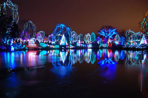 lights at columbus zoo columbus ohio zoo lights by bbmb32 photo