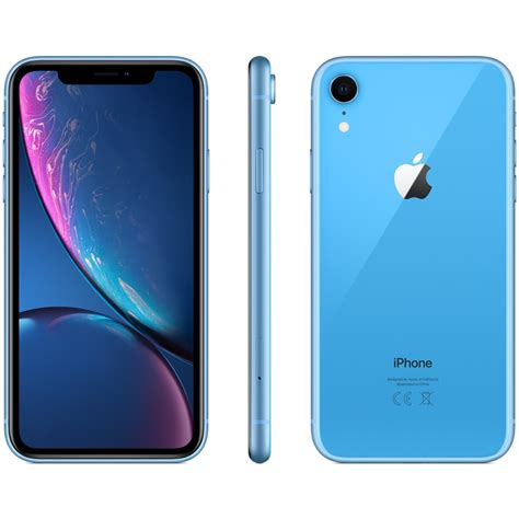 Iphone Xr 128gb Unlocked by Apple Iphone Xr 128gb Dual Nano Sim A2108 Sim Free Unlocked Blue Mobile Toby Deals Offers