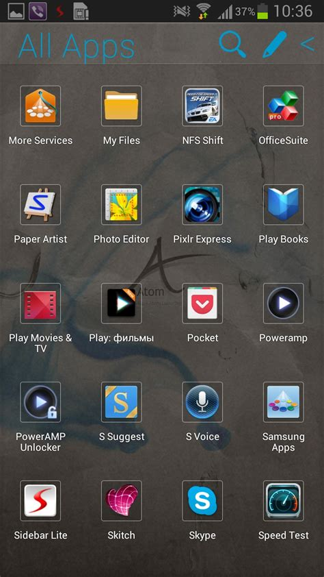 free themes for atom launcher atom launcher programmes pour android 2018