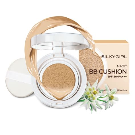 Silkygirl Bb Cushion silkygirl magic bb cushion 02 medium আম ও