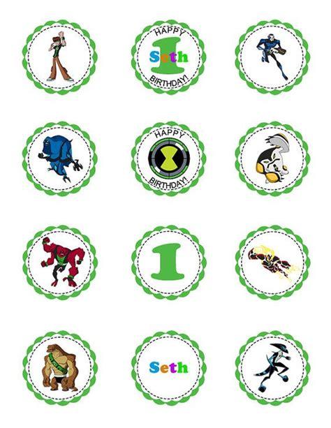 Ben 10 Stickers Printable