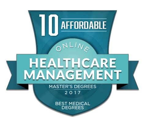 Affordable And Best Mba In Health Program 2016 by 10 Affordable Masters Of Healthcare Management