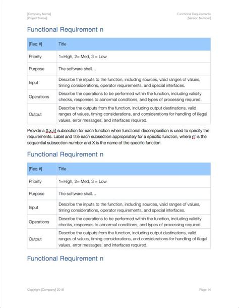 functional requirements apple iwork