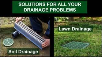 Backyard Drainage Solutions Yard Drainage Ideas Awesome Impression
