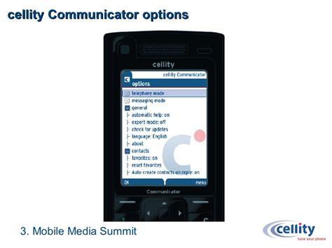 mobile media summit cellity presentation mobile media summit medienforum nrw