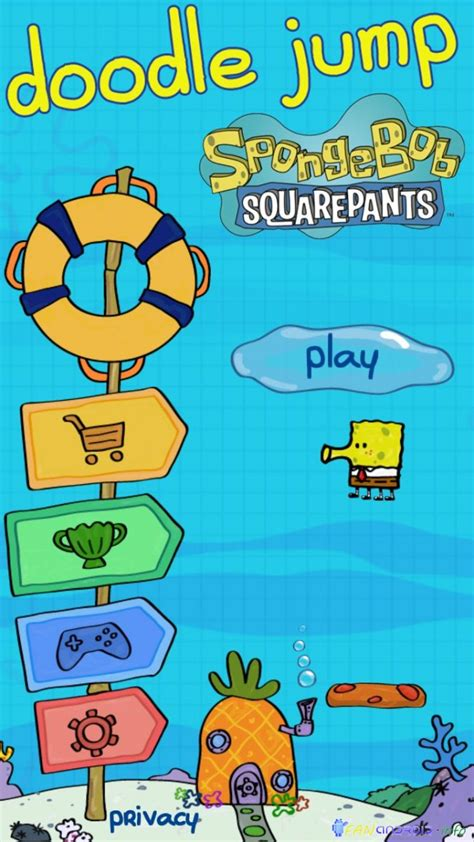 doodle jump for android doodle jump spongebob for android