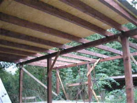 carport dach sparren und unterkonstruktion