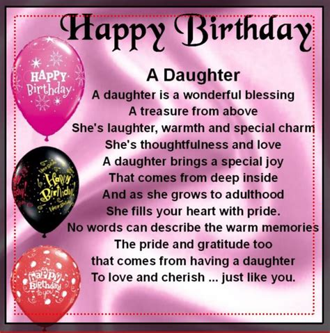 Birthday Quotes From Mothers To Daughters 25 Best Ideas About Happy Birthday Daughter On Pinterest