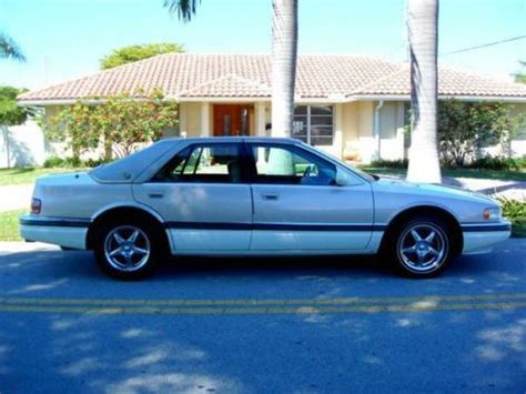 White 1995 Cadillac Seville Sts Sell Used 1995 Cadillac Seville Sls White Not Sts