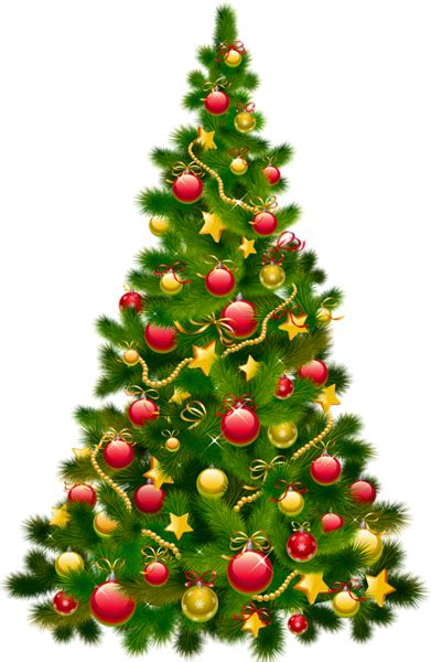 large transparent christmas tree  ornaments clipart gallery yopriceville high quality
