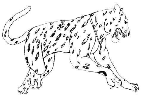 free leopard masks coloring pages
