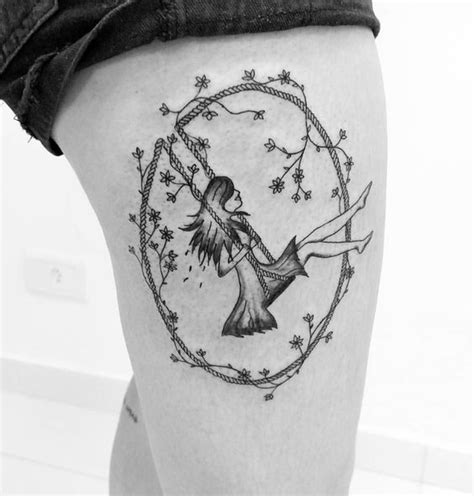 tattoo girl on swing 17 best images about tattoos on pinterest sister