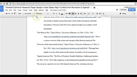 Fixing Hanging Indents In Works Cited Google Docs Youtube 7 Does Docs