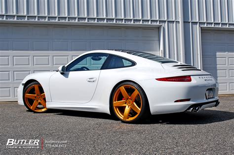 custom porsche wheels porsche 911 s with custom gold 21in victor baden