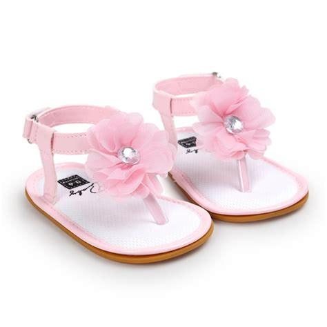 Crib Shoes by Newborn Baby Princess Crib Shoes Toddler Sandals Soft Prewalker Shoes