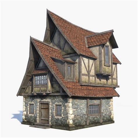 fantasy houses max medieval fantasy house 1