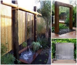 water wall design diy backyard water wall back yard water features interior designs nanobuffet com