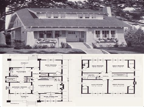 original home plans original craftsman plans 1920 1920 bungalow house plans