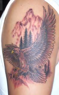 bald eagle tattoo design on shoulder photo 2 photo