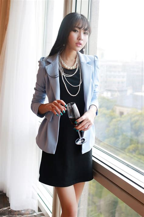 Bzjt217090507244 Blazer Hitam Korea Blazer Putih Termurah blazer wanita korea newhairstylesformen2014