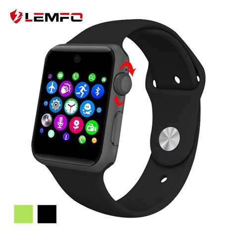 bluetooth smart watch aliexpress com buy lemfo lf07 bluetooth smart watch sync