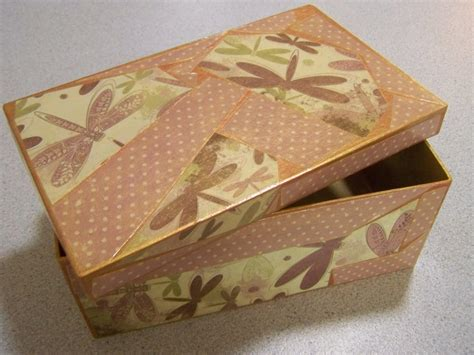 Decoupage Box - decoupage sewing boxes finished tropical threads