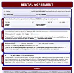 Rental agreement forms free download and software reviews cnet