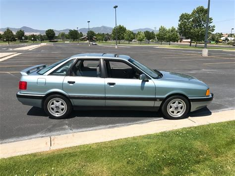 1991 audi 90 quattro 20v with 23 000 miles german cars for sale blog